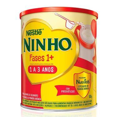 Ninho Fases 1+ Composto Lácteo com 800g 800g