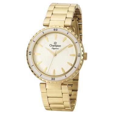 0d12cc9134c Relógio Champion Elegance Analógico Feminino CN27438H