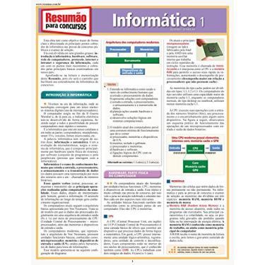Resumão Para Concursos - Informática 1 - Idankas, Rodney - 9788577113156