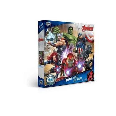 Imagem de Quebra Cabeça - 500 peças - Os Vingadores - Toyster