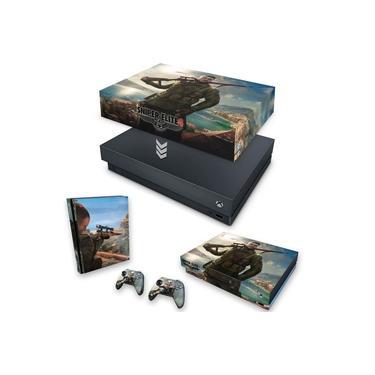Capa Anti Poeira e Skin para Xbox One X - Sniper Elite 4