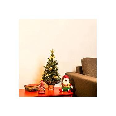 Árvore de Mesa Decorada Pinheiro Natal Express  - Orb Christmas