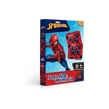 Imagem de Jogo De Memória Homem Aranha 24 Pares 8016 Toyster