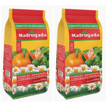 Composto de Erva Mate Cascaritas Madrugada Kit 1Kg