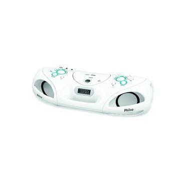 Som Portátil Boombox Philco PB140 USB 20W MP3 Rádio FM Bivolt