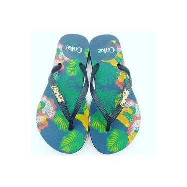 Chinelo Coca-Cola Shoes Feminino Adulto CC3000