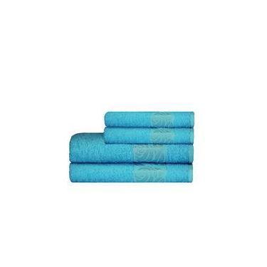 Imagem de Toalha Donna De Rosto 45x70 Azul Claro - Camesa