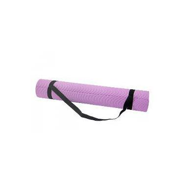 Tapete Colchonete Portátil Com Alça Para Yoga Pilates E Diversos Exercicios 5112 (173cmx61cmx0,6cm)