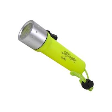 Lanterna para mergulho de mão com alça