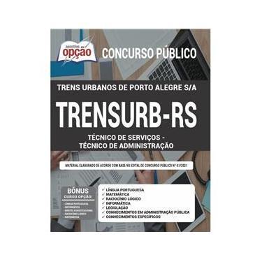 Imagem de Apostila Concurso Trensurb Rs - Técnico De Administração