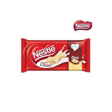 Combo com 5 Barras de Chocolate Nestle Classic Duo 90g