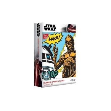 Imagem de Quebra-cabeça Star Wars - C-3po/r2-d2 500 Peças Nano