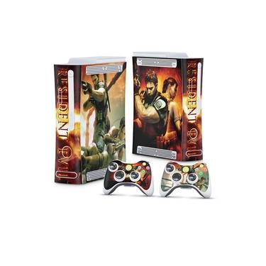 Skin Adesivo para Xbox 360 Fat Arcade - Resident Evil 5