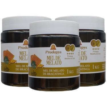 Mel Melato de Bracatinga 1kg Kit com 3