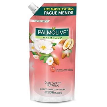 Sabonete Líquido Palmolive Naturals Camélia E Óleo De Amendôas 500Ml Refil