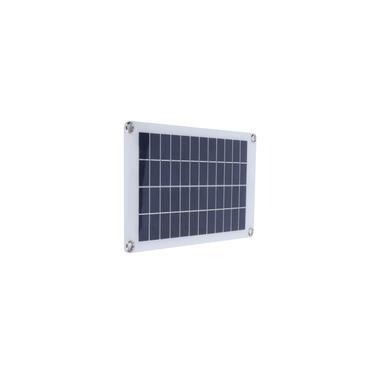 Kit de painel solar 50W 18V Módulo fotovoltaico de polissilício com controlador de carga solar para rv
