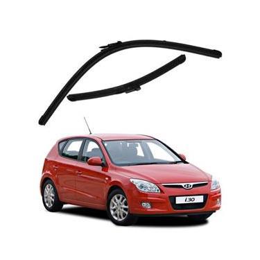 Kit Palhetas Limpador de Parabrisa Dianteiro Hyundai i30 Ano 2008 - 2012