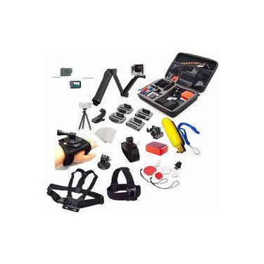 Kit Completo Para Gopro Hero 5 6 7 Black Acessórios Completos Para Go Pro Hero 5 6 7 Black