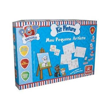 Imagem de Brinquedo para Colorir- Esquadrão Pet Kit- Brincadeira de Criança
