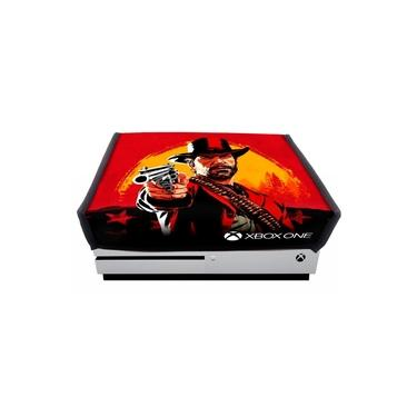 Capa Xbox One Slim Red Dead Redemption