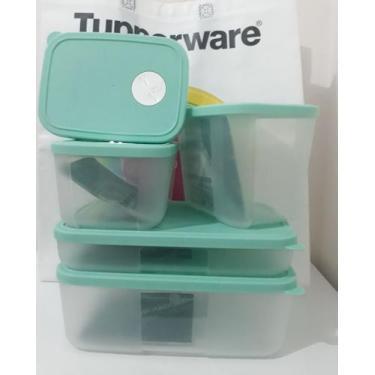 Tupperware Jogo FreezerTime 5 peças