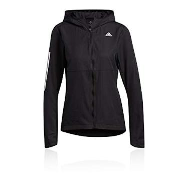 Jaqueta Corta Vento Adidas Own the Run Hooded Feminina