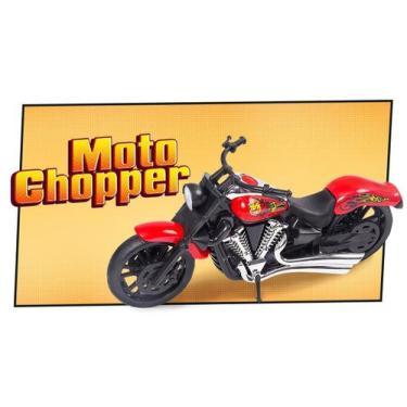 Imagem de Brinquedo Moto Chopper 258 Bs Toys