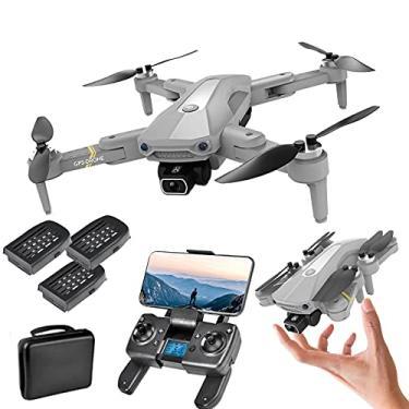 Imagem de XFTOPSE K80 PRO Drone com Câmera 4K ESC Profissional, 5G Wifi FPV Drone GPS com Motor Brushless, Classe 7 Resistência Vento, Posicionamento do Fluxo Óptico, Siga-Me, RC Quadcopter para Iniciantes