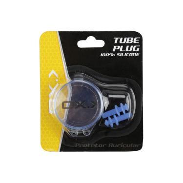 2be751b26 Tampão Protetor de Ouvido para Natação Oxer Tube Plug - Adulto - AZUL Oxer