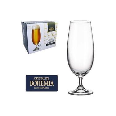 Jogo 6 Taças Cerveja Cristal Gastro Bohemia