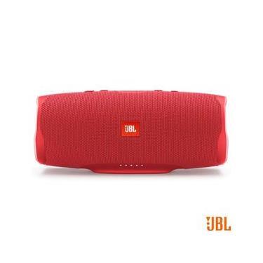 Caixa de Som Portátil JBL Charge4 IPX7 30W RMS Bluetooth Vermelha JBLCHARGE4RED