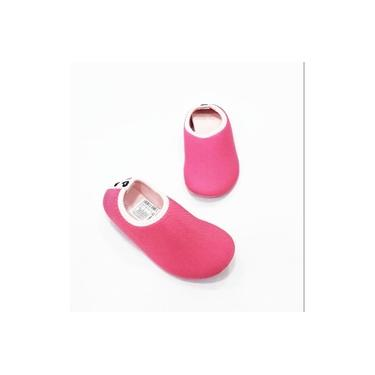 648001 Sapatilha Pampili Bem-me-quer Pink Tec Infantl
