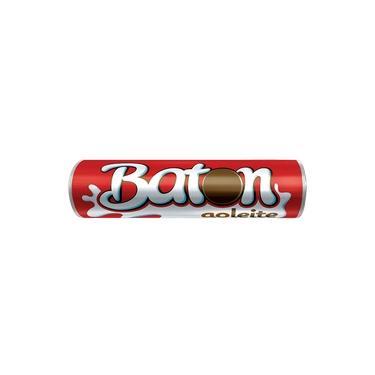 Chocolate Baton 16g Ao Leite Garoto.