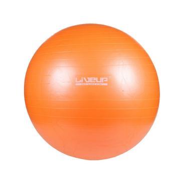 Bola Para Yoga Pilates Fisio Overball Liveup Ls3225 - 25cm - Laranja
