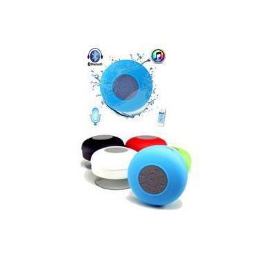 Mini Caixinha De Som Portátil Bluetooth Para Chuveiro Prova D'água - Cor Branca