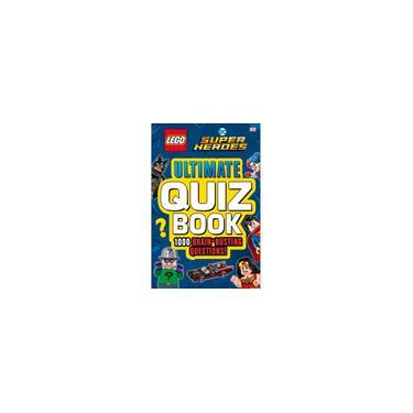 Imagem de Livro - lego dc Comics Super Heroes Ultimate Quiz Book: 1000 Brain-Busting Questions