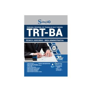 Imagem de Apostila Concurso TRT BA Técnico Judiciário - Administrativa