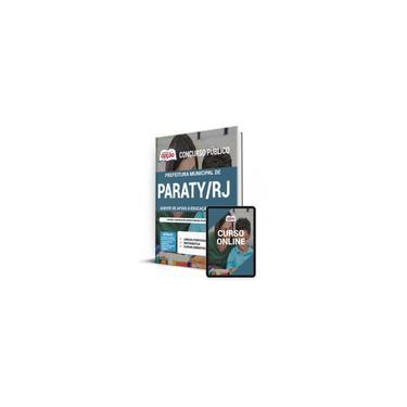 Imagem de Apostila Pref Paraty rj 2021 Agente de Apoio à Educ Especial