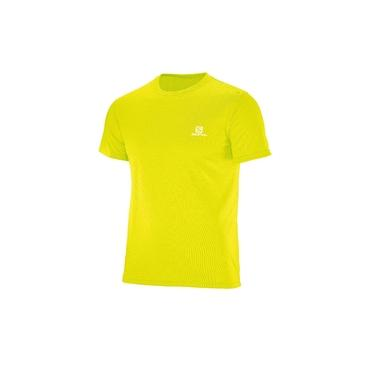 Camiseta Training SS M Amarelo Salomon