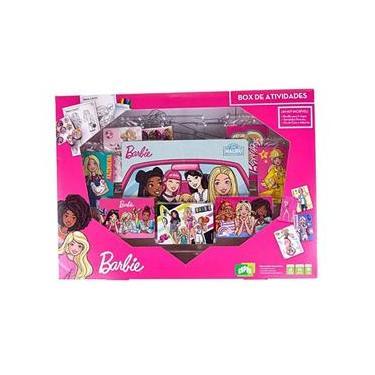 Imagem de Jogo Box de Atividades da Barbie com diversos Acessórios Copag