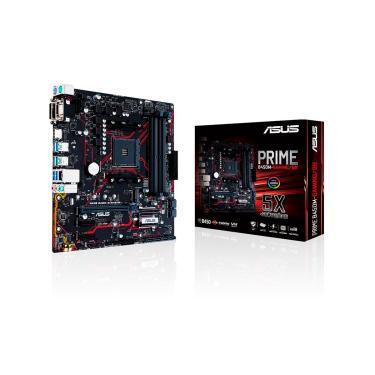 Placa Mãe P/AMD Asus B450M-GAMING PRIME AMD AM4 DDR4 Matx