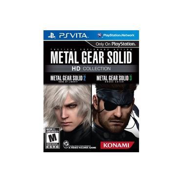 Jogo Game Psvita Metal Gear Solid Hd Collection - Ps Vita