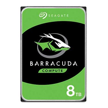Hd Interno Seagate | Barracuda Compute Hdd 3, 5 | Prata | 8Tb | St8000Dm004 Seagate, Hd Interno, Prata
