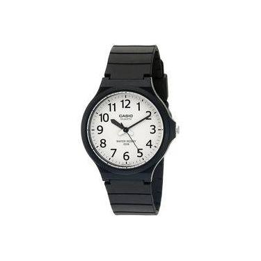 cf7136ce15d Relógio Masculino Casio Analógico Mw2407bvdf - Preto