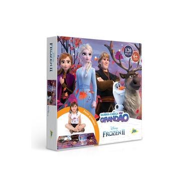 Imagem de Quebra Cabeça Grandão 120 Peças Frozen II Disney Toyster