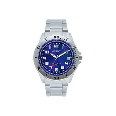 03bece751f2 Relógio Masculino Orient Analógico Esportivo MBSS1155A D2SX
