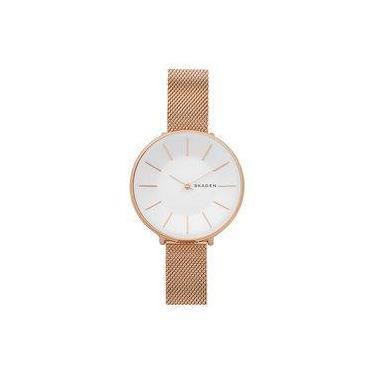 Relógio de Pulso Feminino Skagen   Joalheria   Comparar preço de ... b5f2c23ec3