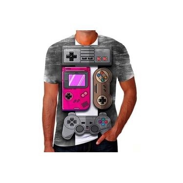 Camiseta Camisa Game Controle X Box Playstation Ps4 Ps2 11