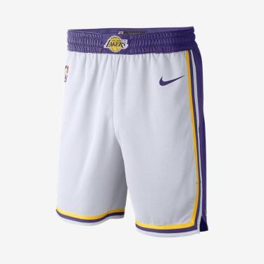 fd55266b44 Shorts Nike Los Angeles Lakers Association Edition Swingman Masculino