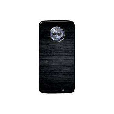 Capa Personalizada para Motorola Moto X4 XT1900 - Madeira Queimada - TX44